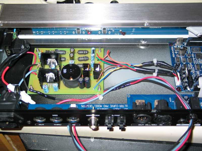 12V power supply for Behringer DSP8024, DEQ2496, DCX2496